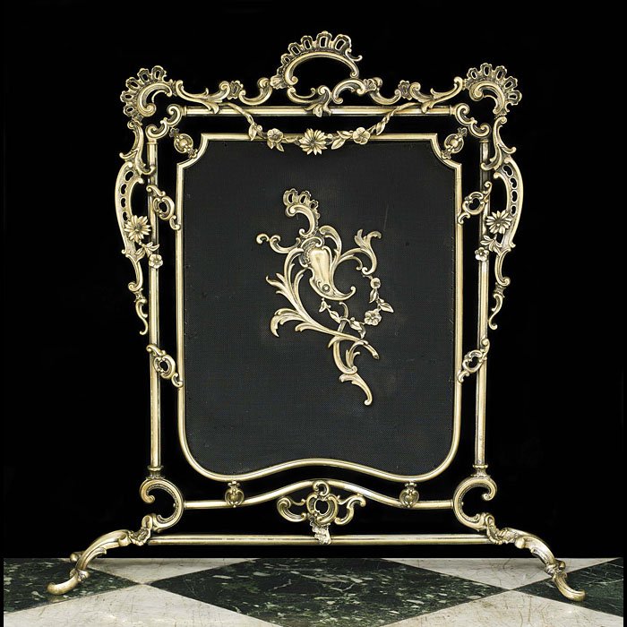 Early 20th Century Rococo Style Fire Screen