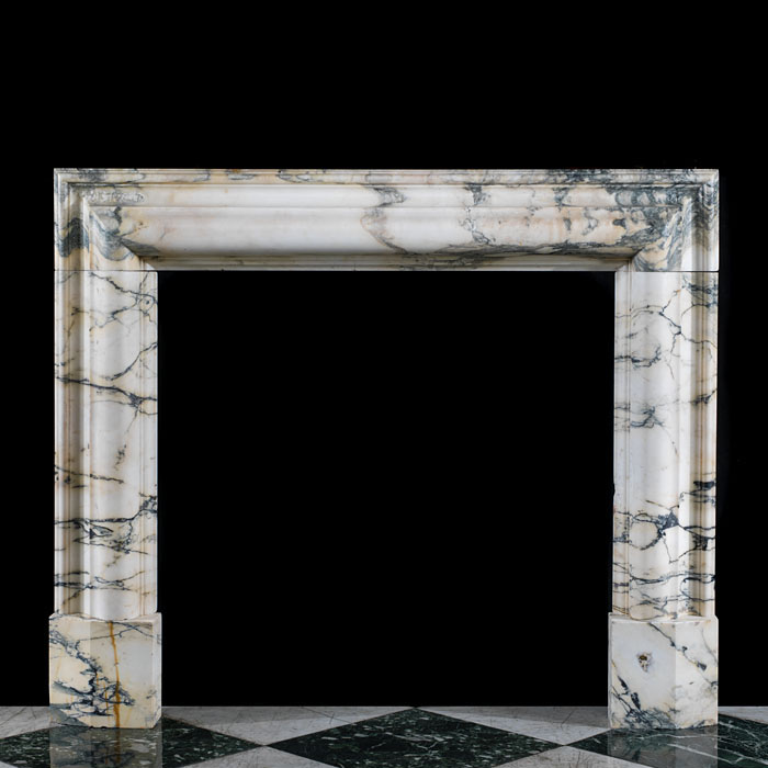 A 20th century Pavonazzo Marble Bolection