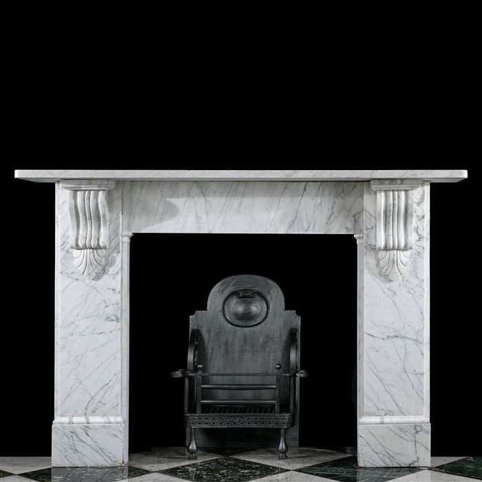 A Victorian Marble Fireplace Surround