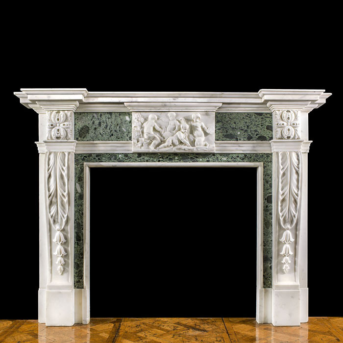 A Georgian chimneypiece from Hanover Square
