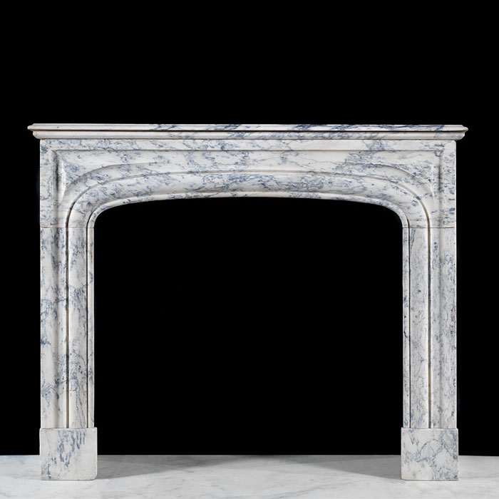 A French Beccia Marble chimneypiece