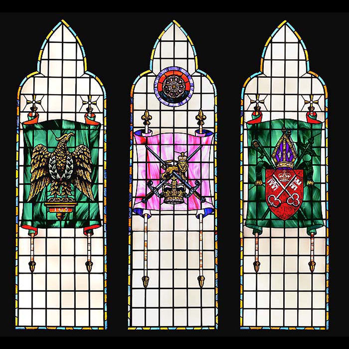 Household Cavalry Stained Glass Windows